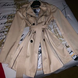 Guess Belted Trench Coat NWT